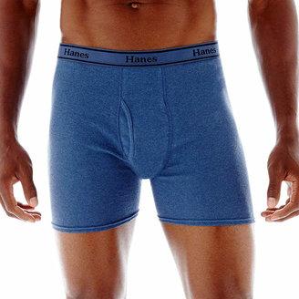 Hanes Men's FreshIQ ComfortFlex Waistband Boxer Brief 4-Pack