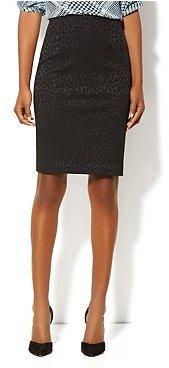 New York & Co. Textured-Jacquard Pencil Skirt