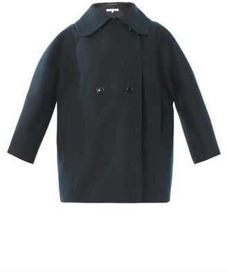 Carven Double-breasted cotton coat