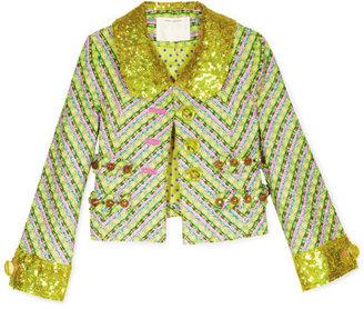 Marc Jacobs Yellow Tweed Jacket