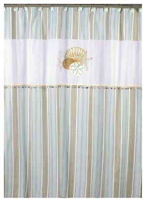 Avanti By the Sea, Shower Curtain