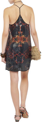 Clover Canyon Dubai In The Sky sequined dress