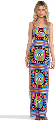 Mara Hoffman Modal Strip Back Column Dress