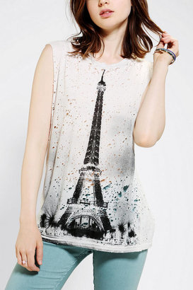 Truly Madly Deeply Paris Photo Muscle Tee