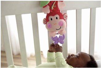Fisher-Price Musical Monkey Crib Pull Down