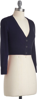 The Dream of the Crop Cardigan in Navy