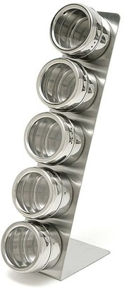 Lipper 6-pc. stainless steel spice rack set