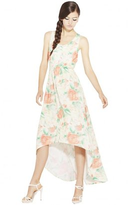 Alice + Olivia Kielty Elastic Waist Maxi Dress
