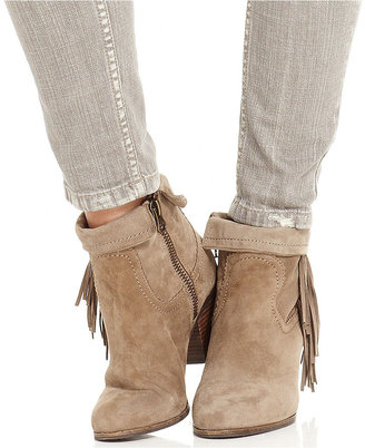 Free People Jeans, Skinny Grey-Wash Destroyed