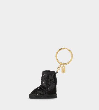 UGG Womens Glitter Boot Key Charm