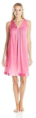 Vanity Fair Women's Plus Size Coloratura Sleepwear Short Gown 30807 $17.62 thestylecure.com