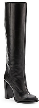 Calvin Klein Heloise Tall Leather Boots