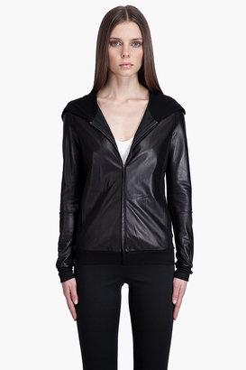 Rozae Nichols Rozae by Leather HOODIE