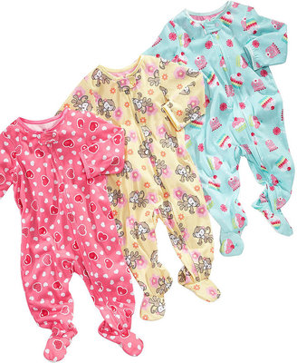 Little Me Baby Coverall, Baby Girls Footed Coverall