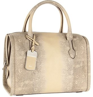 Lauren Ralph Lauren Formanterra Satchel (Natural) - Bags and Luggage