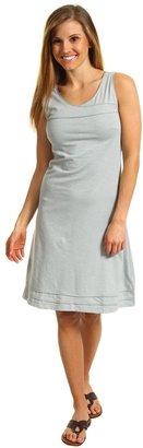 Horny Toad Oolong S/L Dress (Quarry) - Apparel