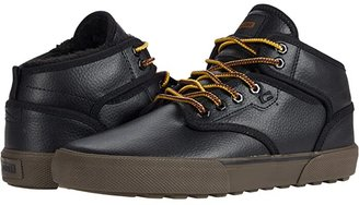 Globe Motley Mid (Black/Turtle Green) Men's Skate Shoes