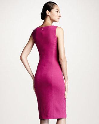 Carolina Herrera Draped Crepe Dress