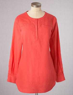 Boden Relaxed Throw Over Tunic