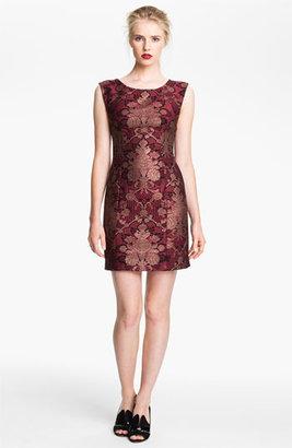 Tracy Reese Brocade Sheath Dress