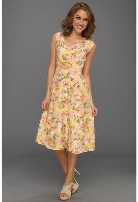 Pendleton Paradise Print Dress (Malibu Floral Print) - Apparel