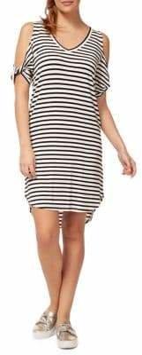 Dex Striped Shift Dress