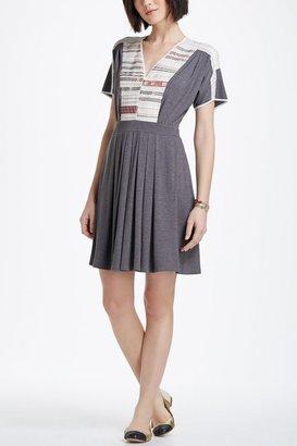 Anthropologie Cross-Stitch Row Dress