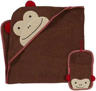 Skip Hop Zoo Towel/Mitt Set - Owl - 2 ct