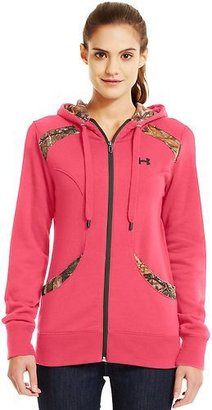 Under Armour Women's Mtn Charged Cotton Storm Full Zip Hoodie