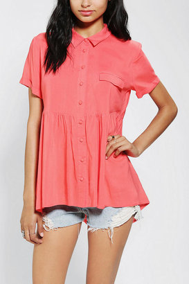 Urban Outfitters Pins And Needles Breezy Babydoll Tunic