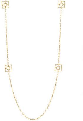 Trina Turk Hardware Accented Opera Necklace