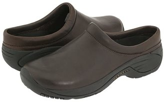 Merrell Encore Gust (Smooth Bug Brown Leather) Men's Slip on Shoes