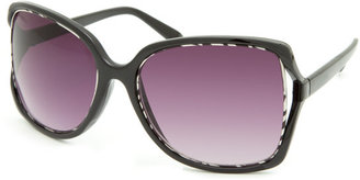 Full Tilt Snooty Zebra Sunglasses