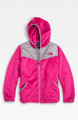 The North Face 'Oso' Plush Fleece Hooded Jacket (Big Girls)