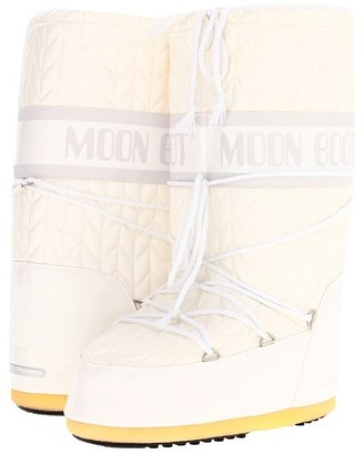 Tecnica 12 Royale Moon Boot (White) - Footwear