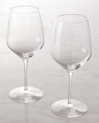 """Rogaska Two Red Wine """"Y"""" Glasses"""