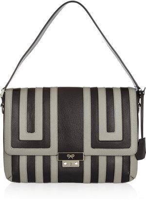 Anya Hindmarch Ebenezer leather shoulder bag