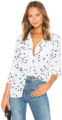 Equipment Slim Signature Star Print Blouse