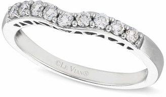 Le Vian Diamond Diamond Wedding Band (1/4 ct. t.w.) in 14k White Gold $1,500 thestylecure.com