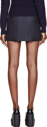 J.W.Anderson Slate Neoprene Mini Skirt