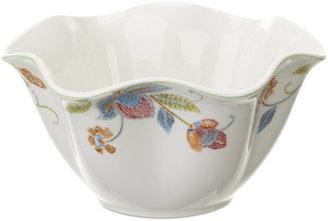 Oleg Cassini Dinnerware, Kavita Ruffled Bowl