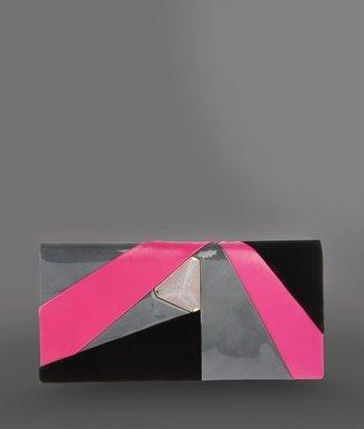 Giorgio Armani Jewel clutch with multicolored details