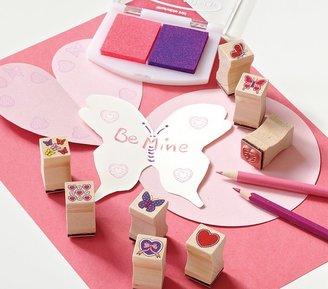 Pottery Barn Kids Butterfly & Heart Stamp Set