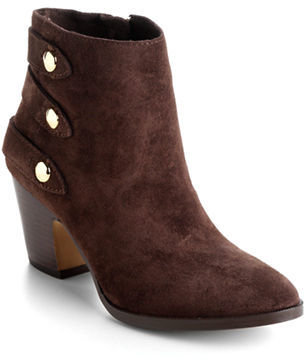 Ivanka Trump Talley Leather Ankle Boots