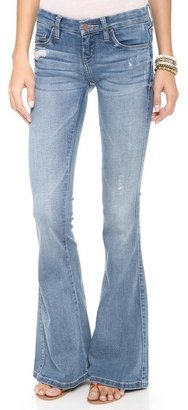 Blank Bell Bottom Jeans
