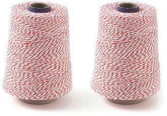 S/2 Baker's Twine, Red/White