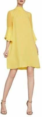 BCBGMAXAZRIA Bow Shift Dress