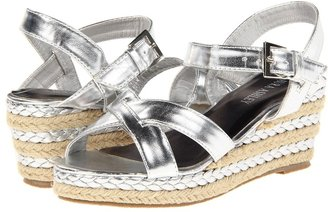 Laura Ashley LA560 (Little Kid/Big Kid) (Silver) - Footwear