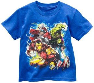 Iron Man Marvel the avengers glow-in-the-dark tee - boys 4-7