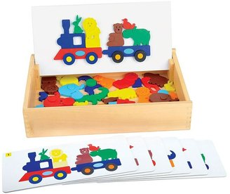 Guidecraft animal train sort & match set